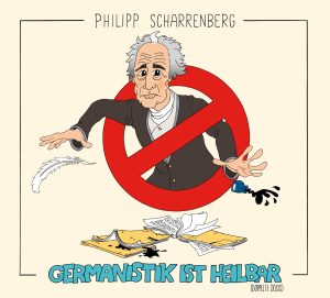 "Cover ""Germanistik ist heilbar"""